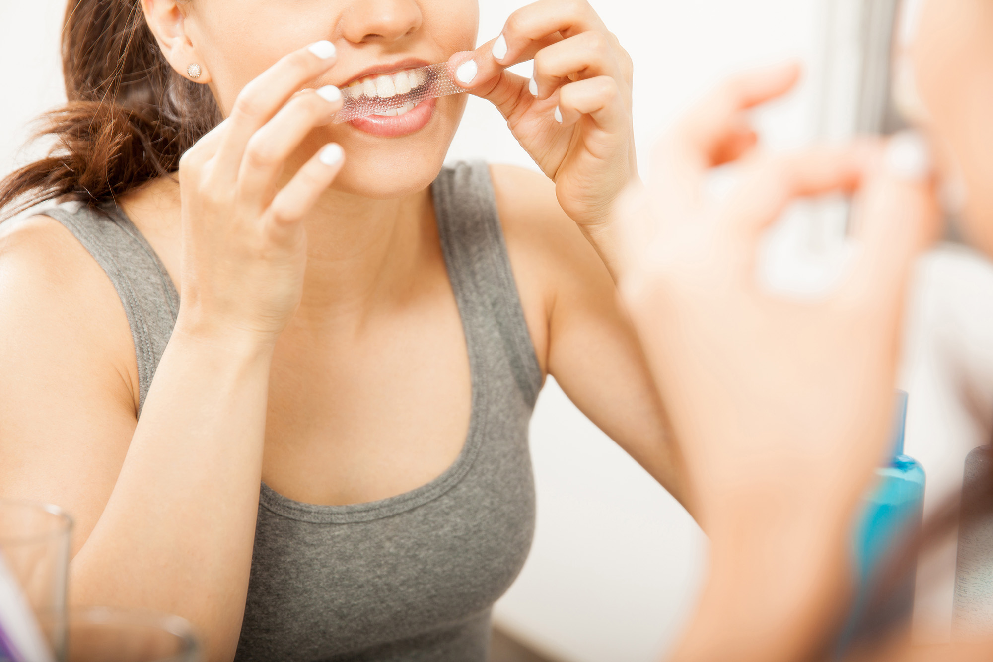 Whitening Strips Could Be Doing Serious Damage To Your Teeth