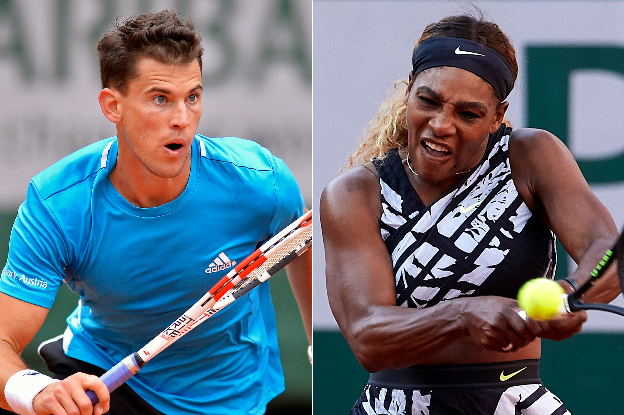 French Open Thiem Says Serena Williams Has bad Personality