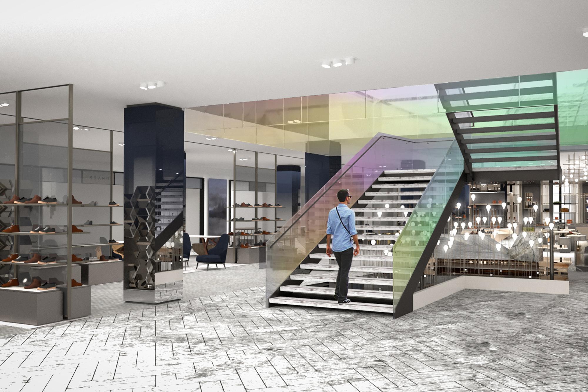 Saks Fifth Avenue to create huge men's