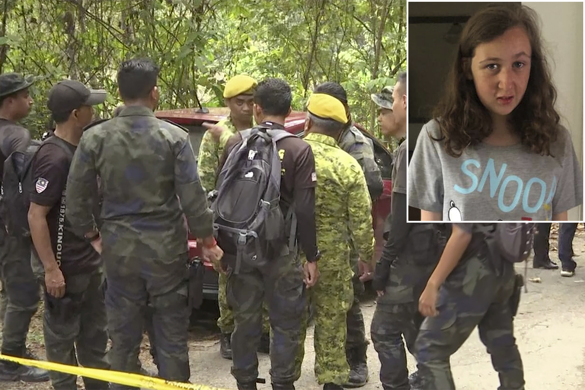 Malaysian rescuers find naked body of British teen Nora