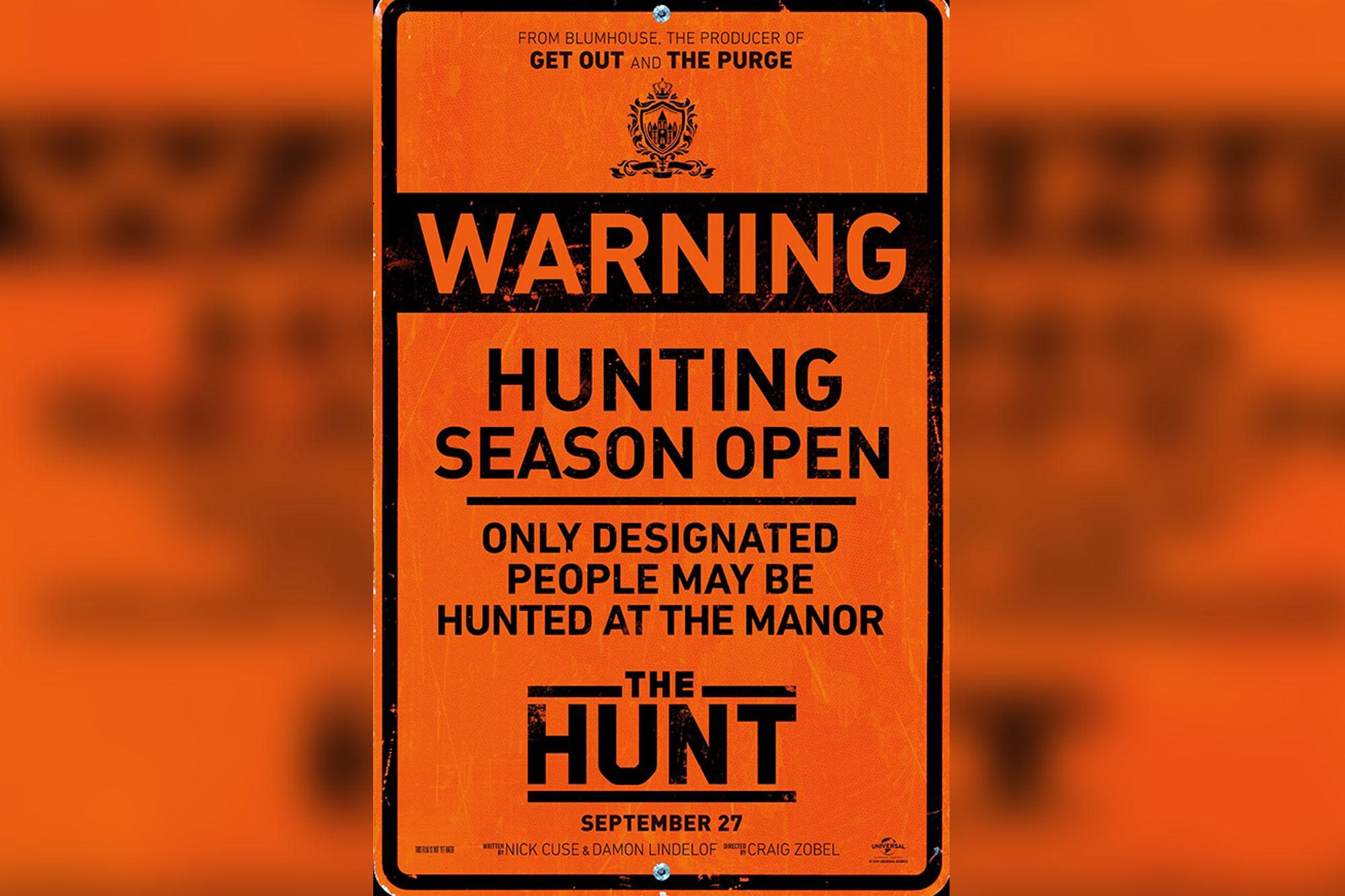 the hunt movie targeting deplorables