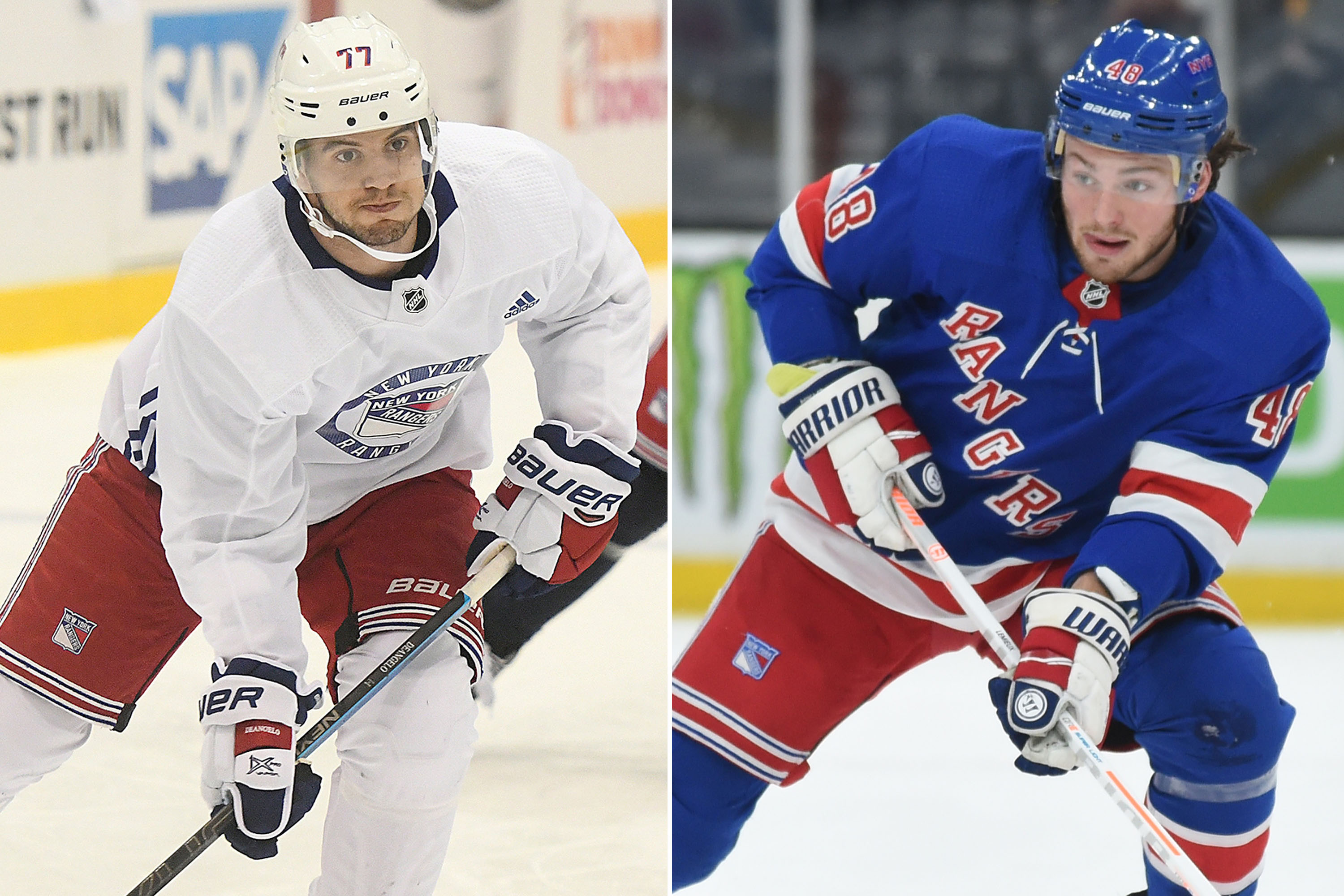 Rangers Tony Deangelo And Brendan Lemieux Have Limited Leverage