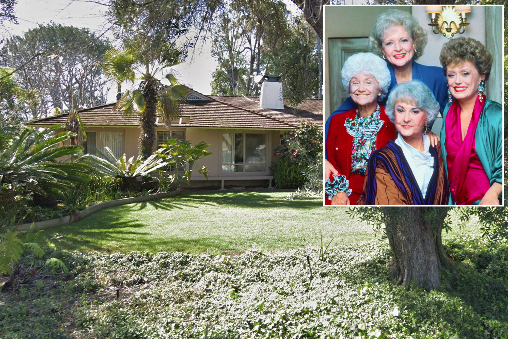 Hgtv S Property Brothers Want To Renovate Golden Girls House,2 Bedroom House Plans With Basement