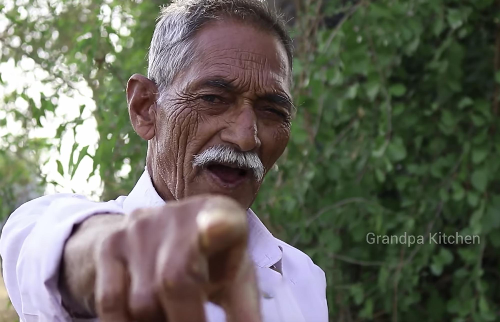 Grandpa Kitchen Beloved Indian Youtuber Dead At 73