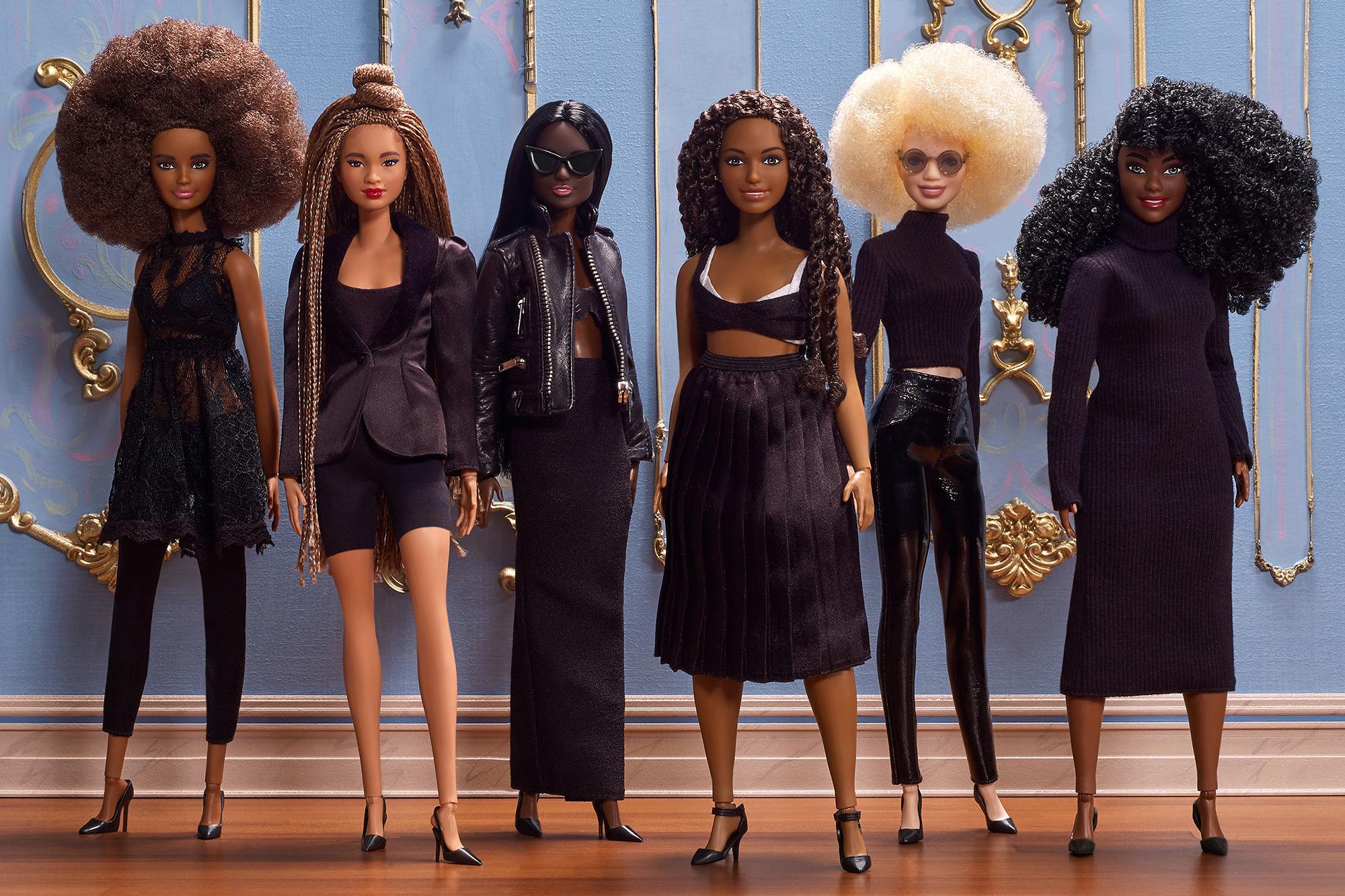 Queen Slim Designer Styled Black History Month Barbies