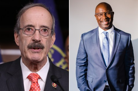 Eliot Engel and Jamaal Bowman