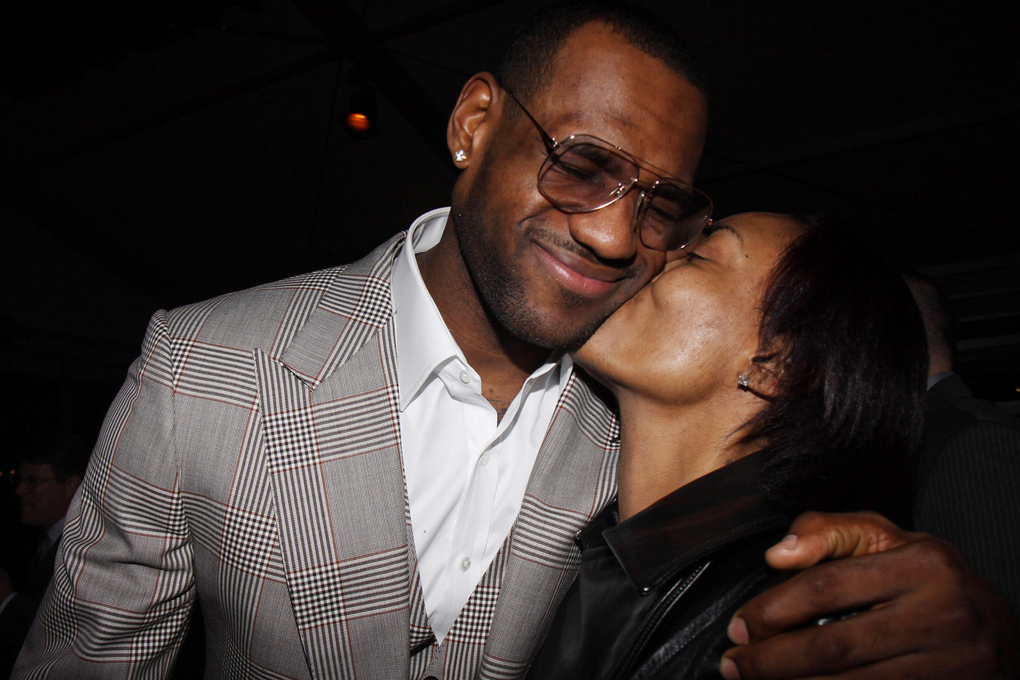 Lebron James Really Missed His Mom During Quarantine