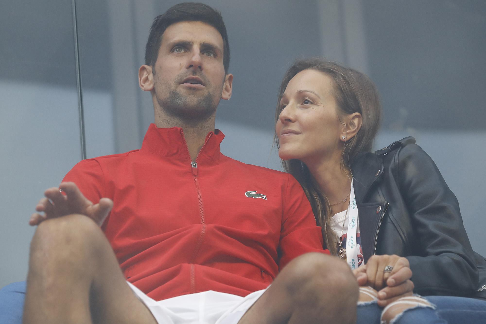 Novak Djokovic Wife Jelena Cleared Of Coronavirus After Adria Tour Fiasco
