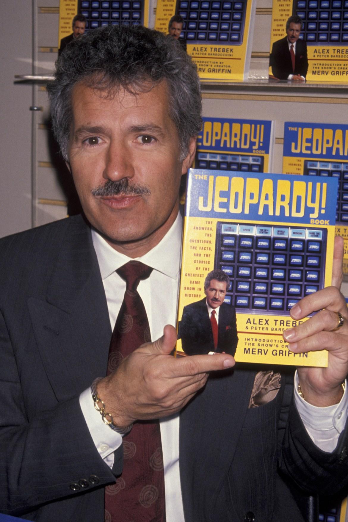 "Book Party for Alex Trebek ""Jeopardy"""