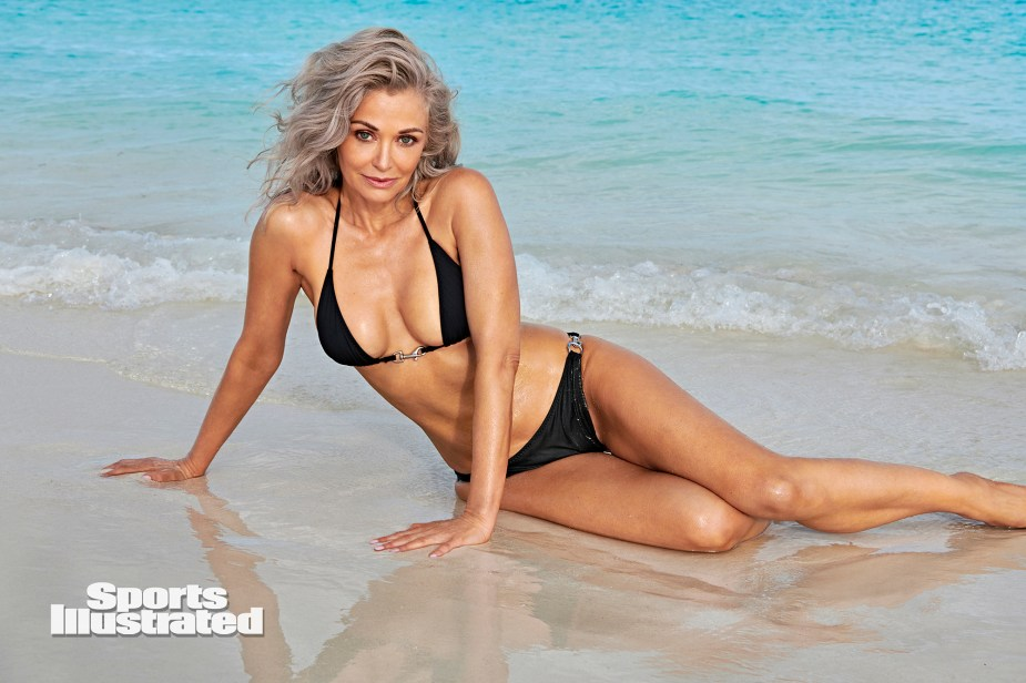 Sports Illustrated's sexy new swimsuit model is 56 and ready to make waves