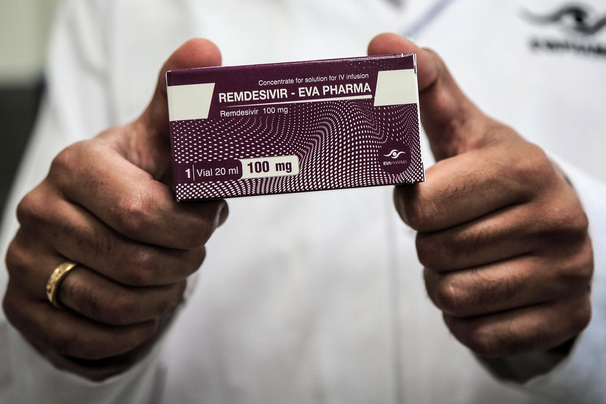 US buys practically all world inventory of coronavirus drug remdesivir