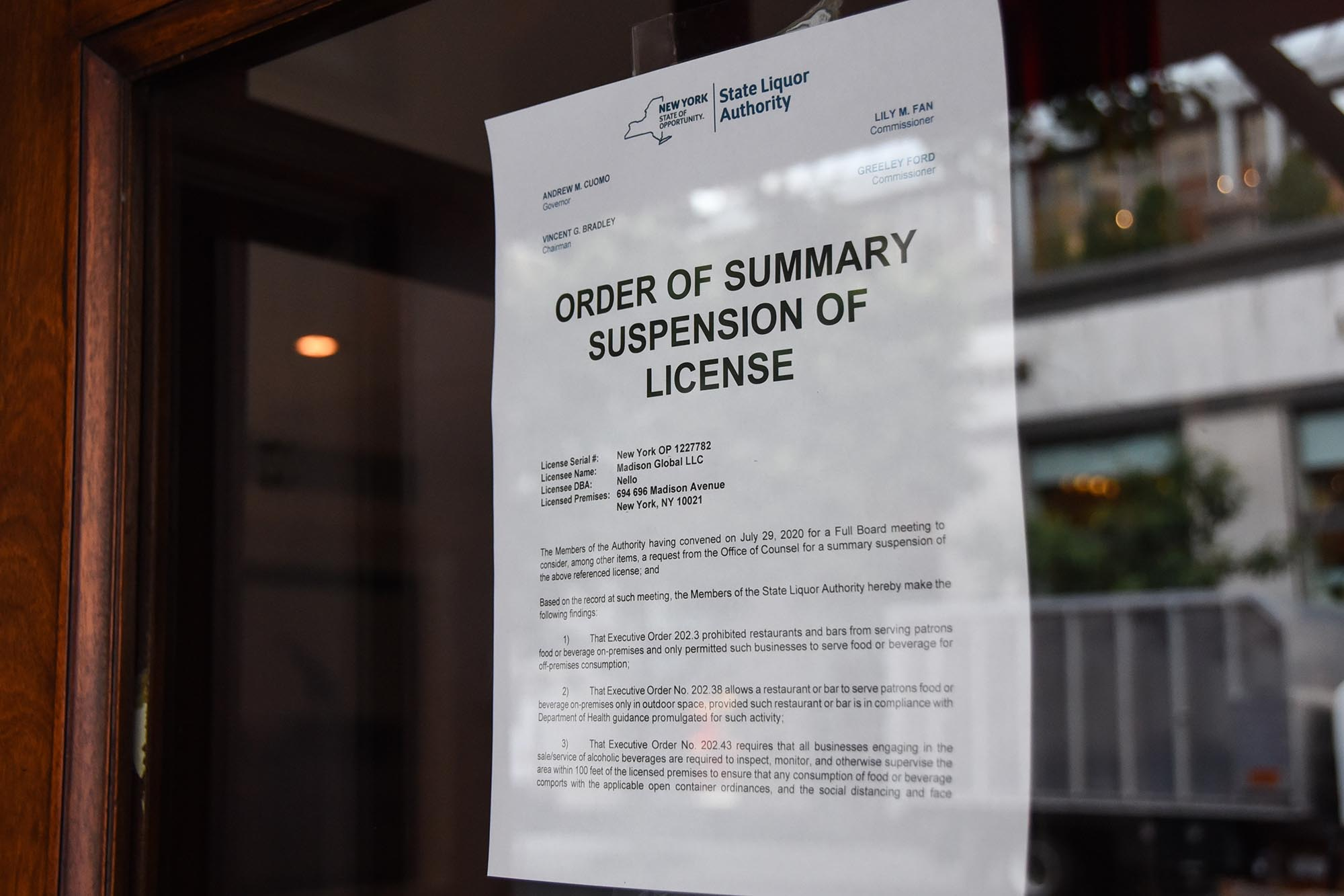 NYSLA cracking down on ticketed live music events at bars, restaurants