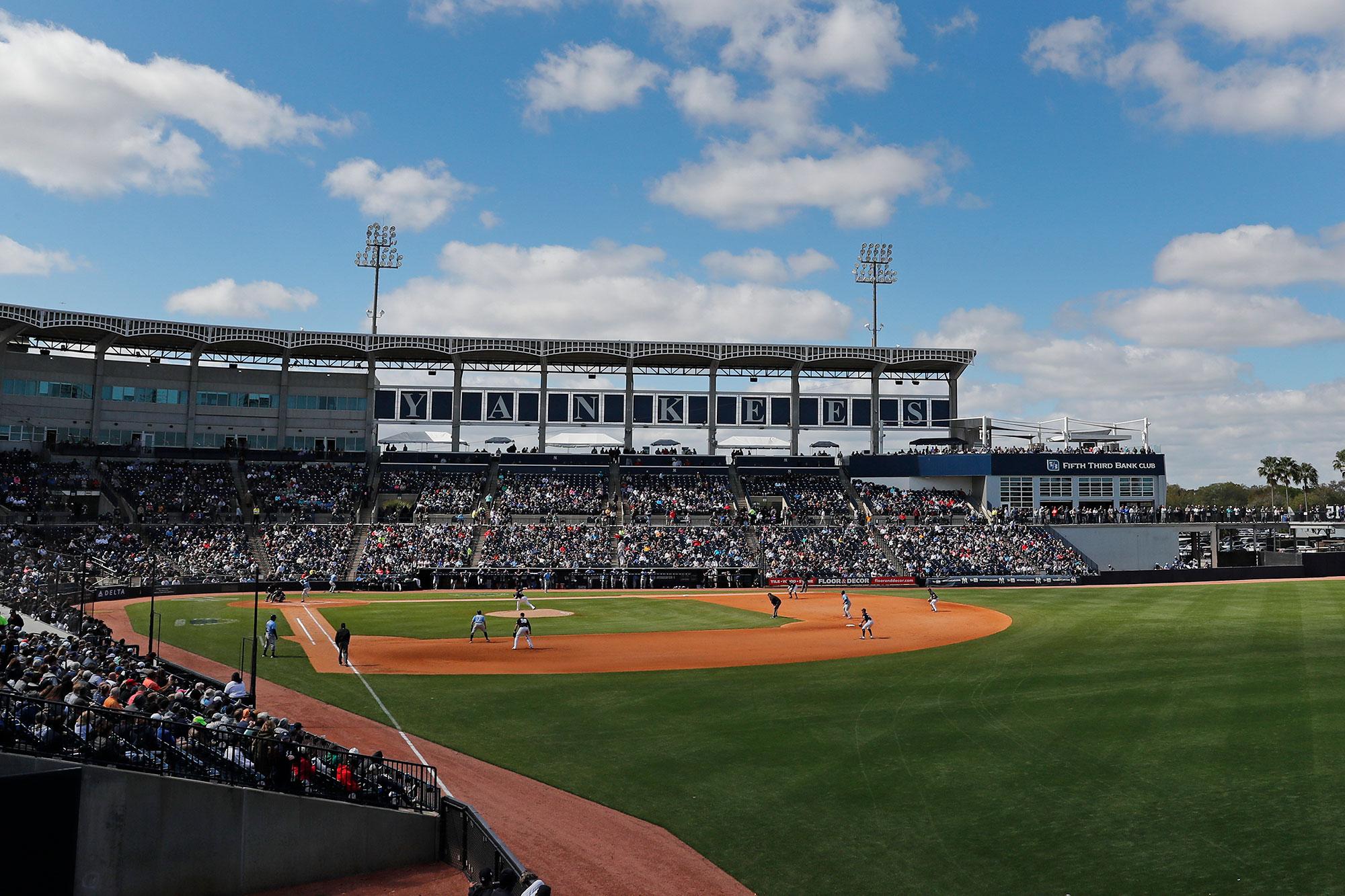 Yankees furlough around 60 player development employees