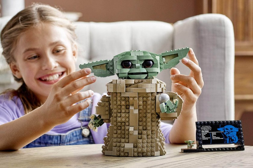 """The Lego Star Wars Baby Yoda set, The Child, will be released in October as part of Mando Mondays, celebrating Season 2 of """"The Mandalorian."""""""