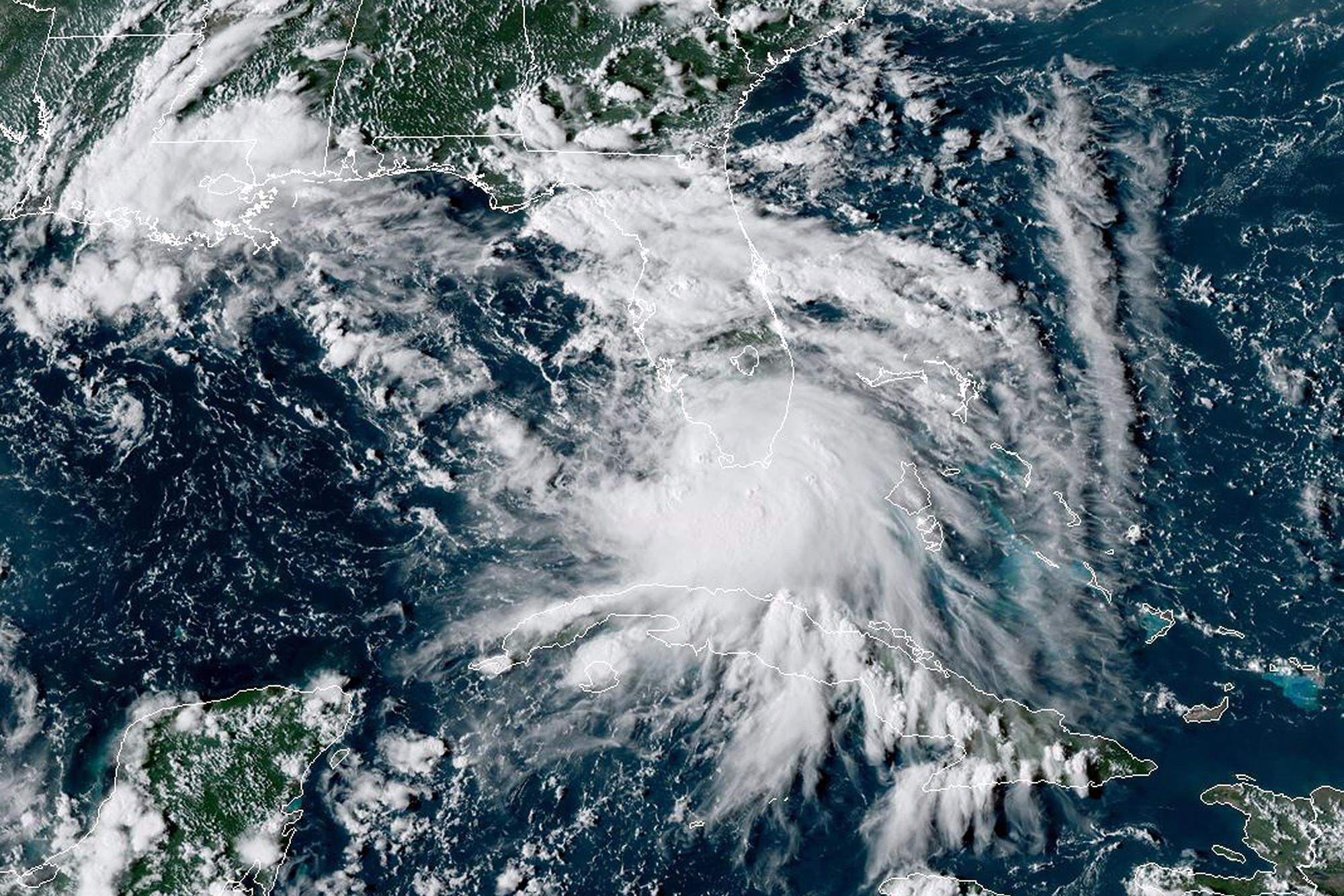 Tropical Storm Sally forms off Florida's Gulf Coast