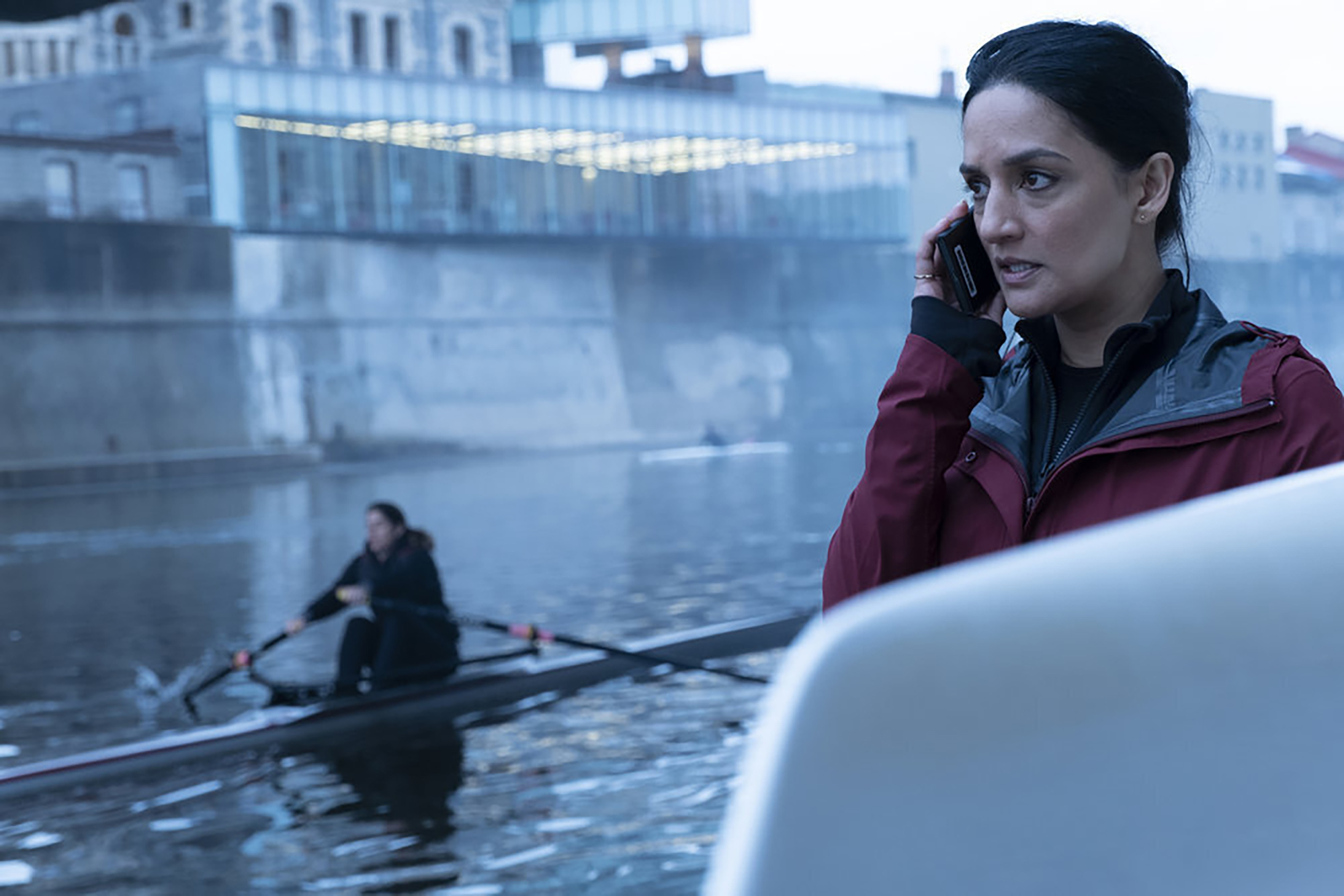 Archie Panjabi says new missing plane mystery show 'Departure' is 'binge-worthy'