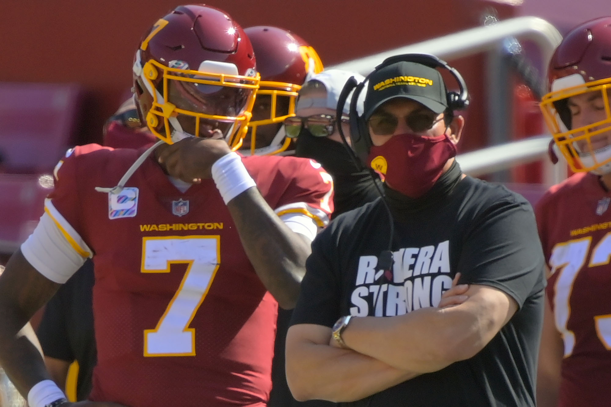 Redskins' Ron Rivera 'saw enough'