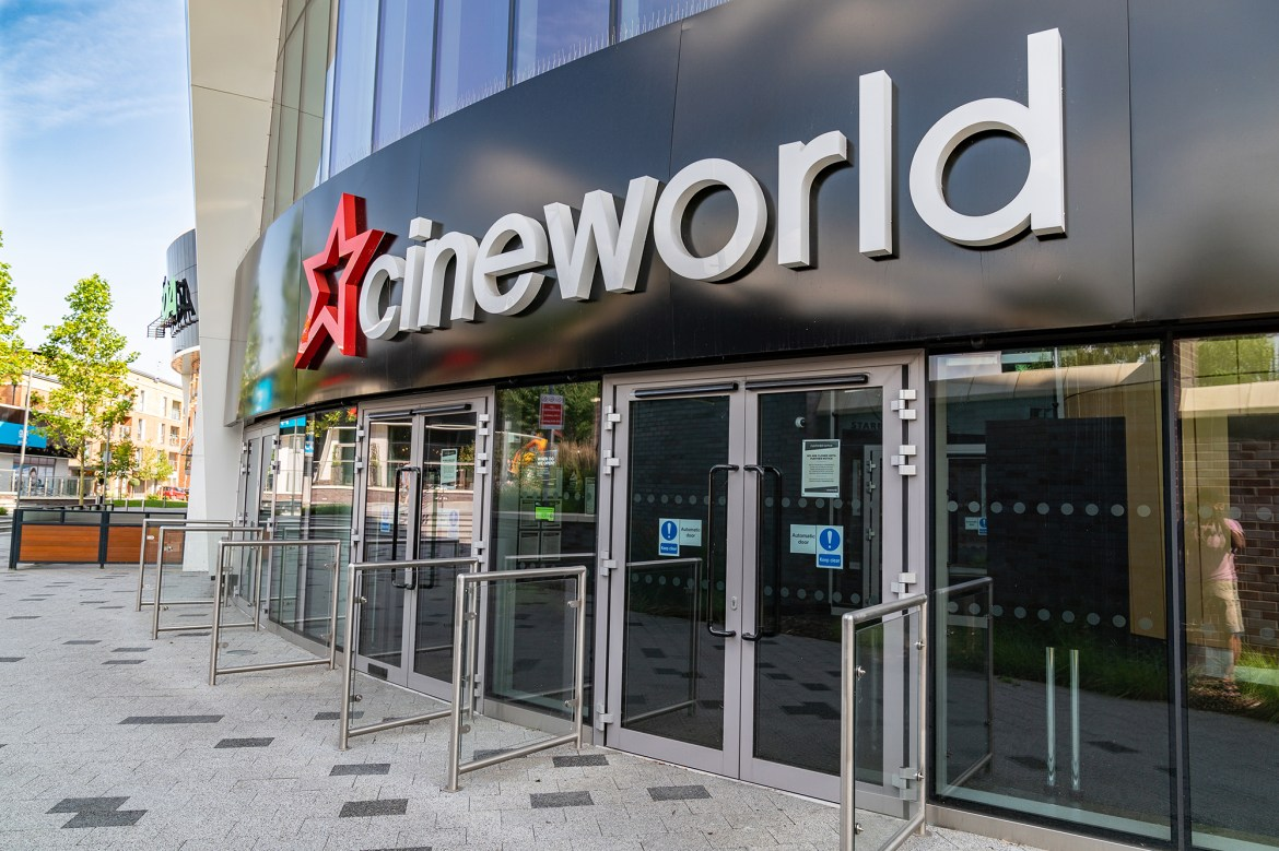 Regal-owner Cineworld to close all US, UK and Irish screens 1