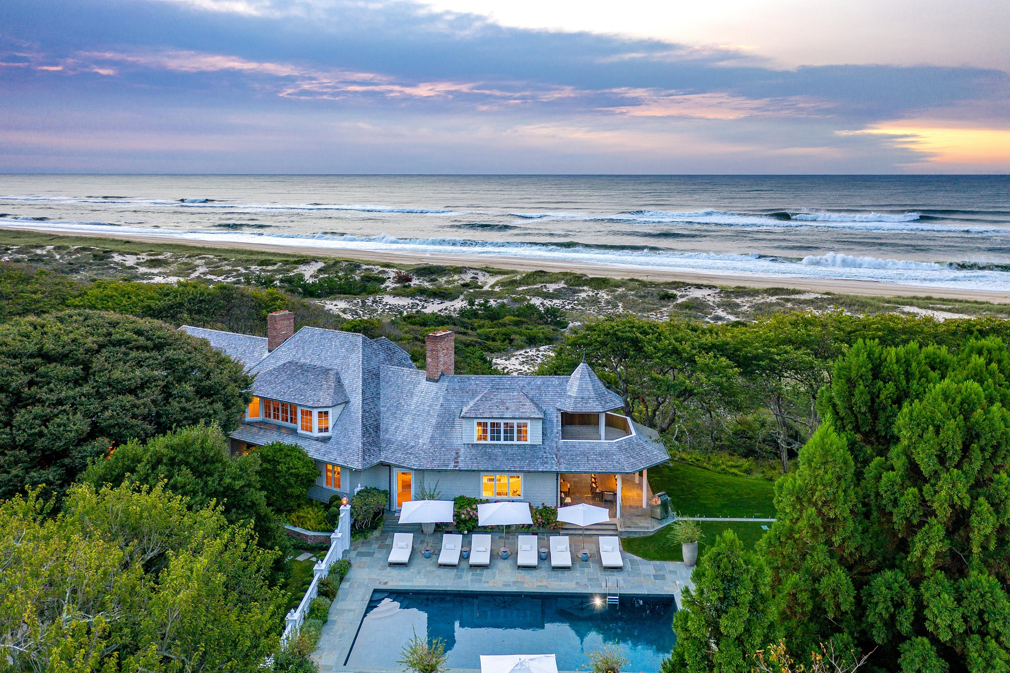 East Hampton compound, sold earlier this year for M, returns for M