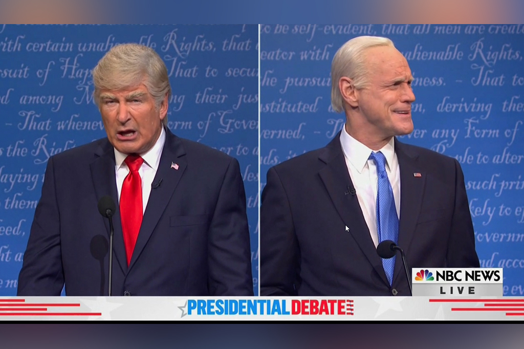 'SNL' final presidential debate sketch is yet again terrible