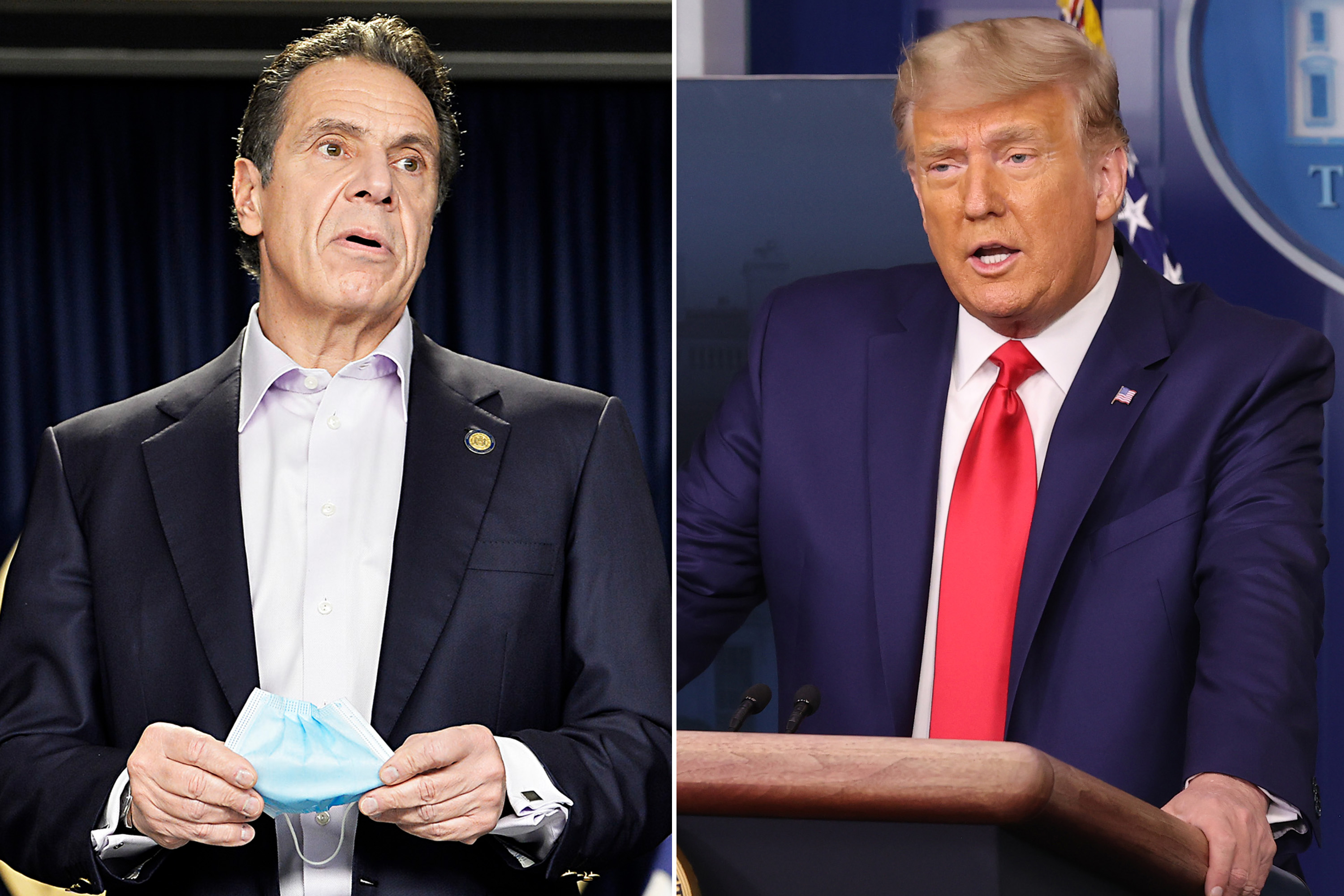 Gov. Cuomo sides with Trump over 'disrespectful' reporters