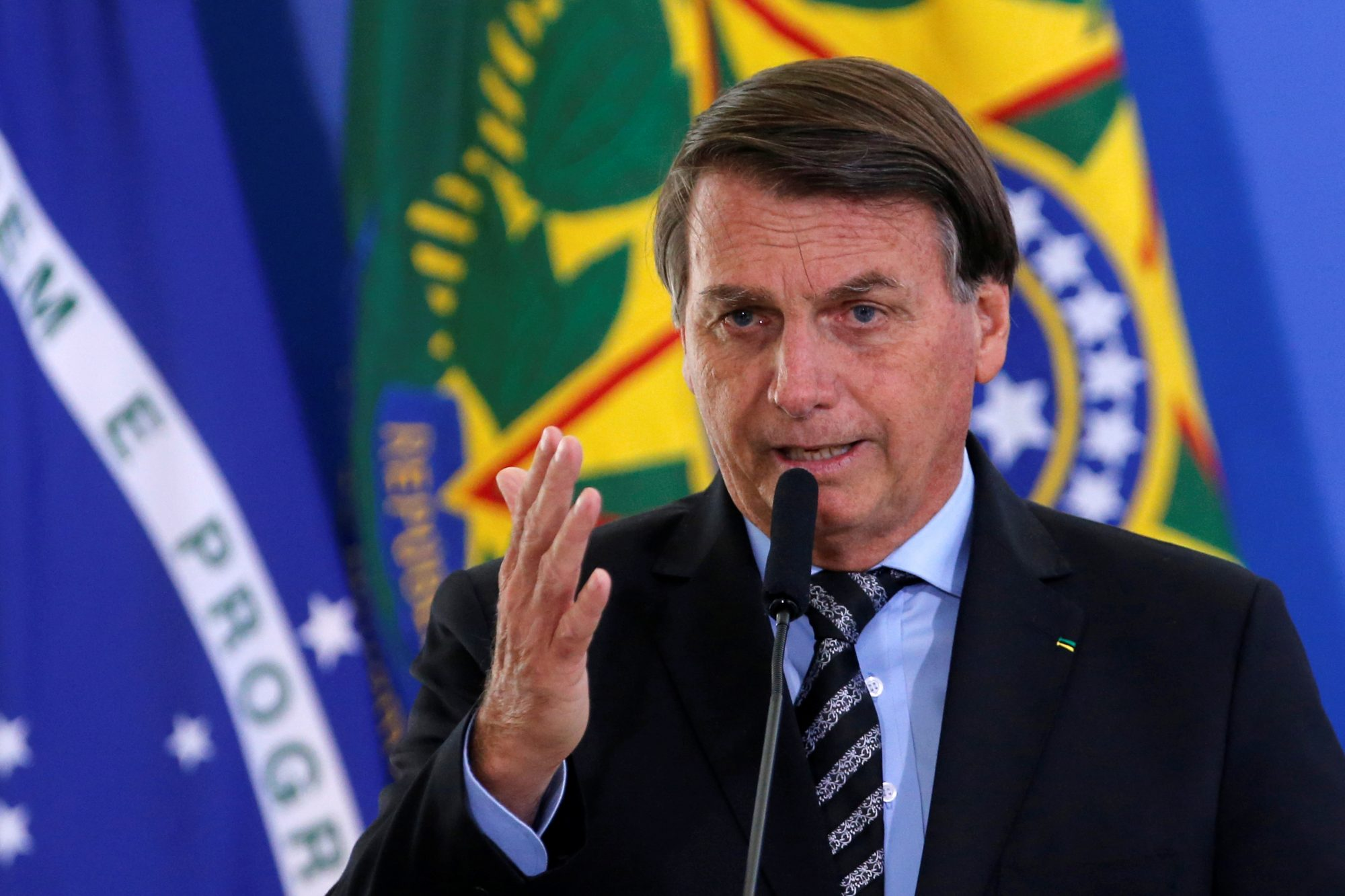 Brazilian President Bolsonaro says he will not take COVID-19 vaccine