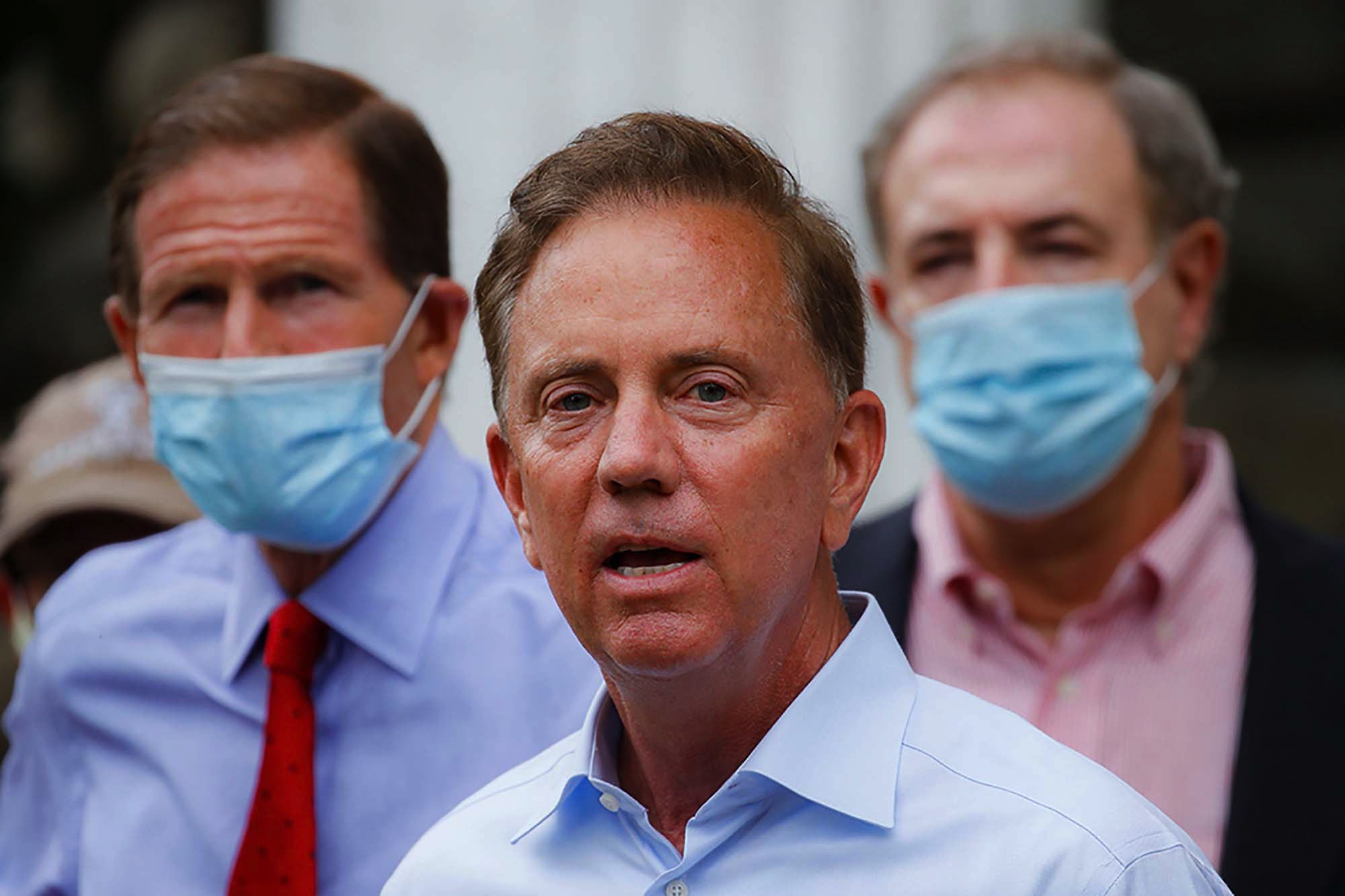 Connecticut Gov. Ned Lamont isolates after staffer gets COVID-19