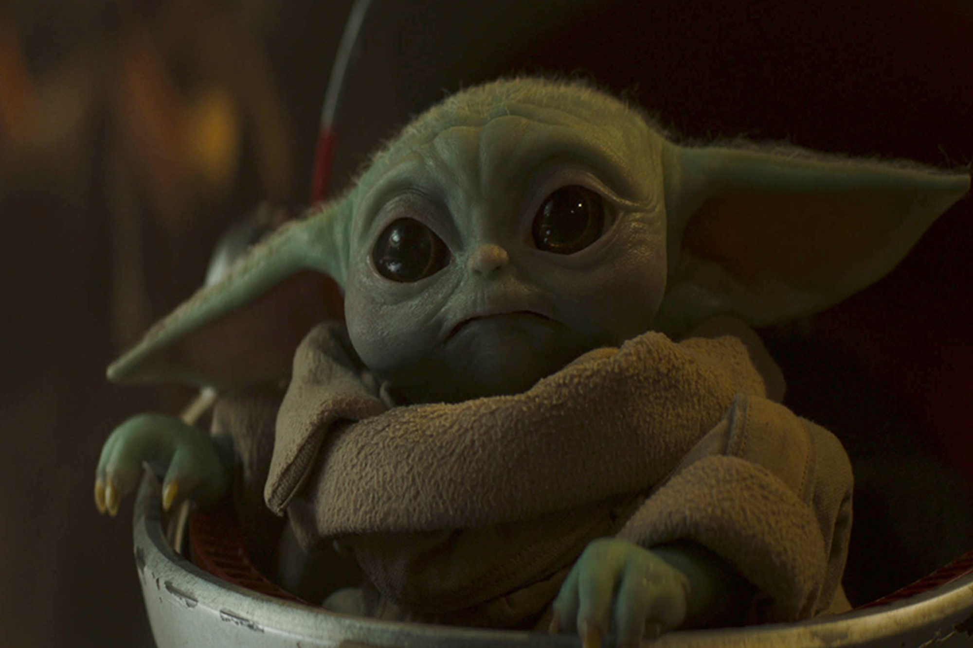 Lucasfilm defends Baby Yoda egg scene in 'The Mandalorian'