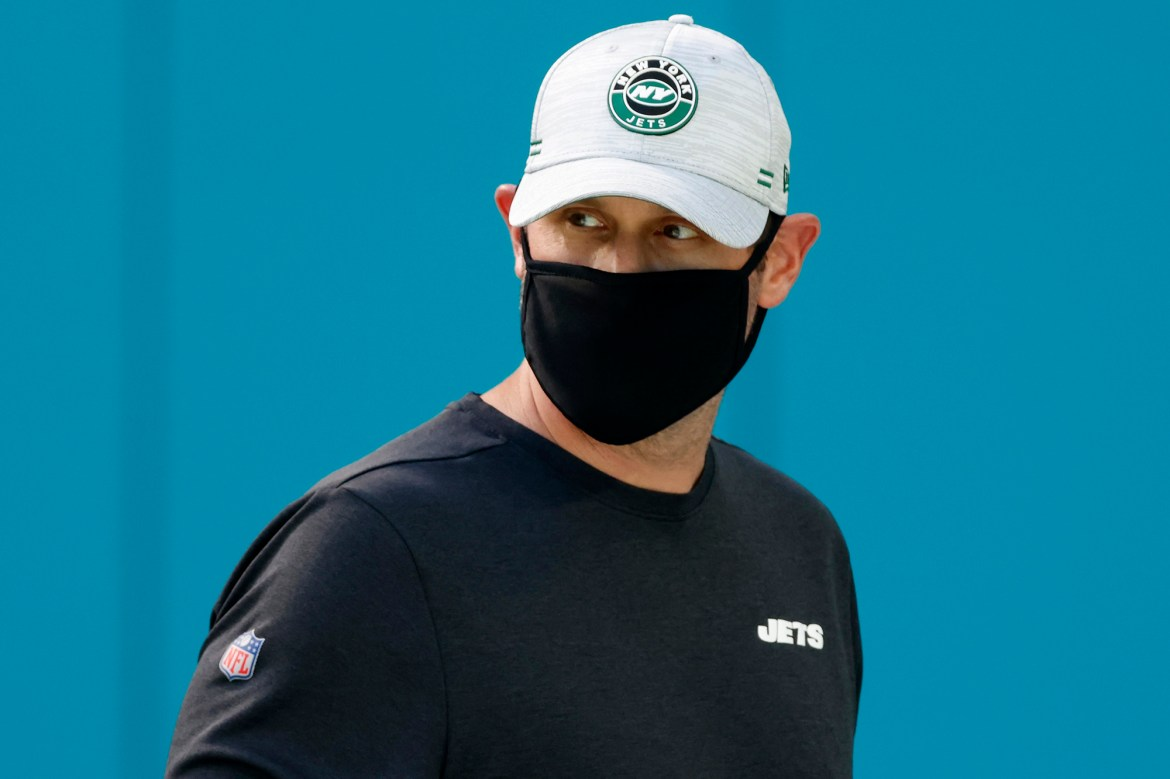 Patriots rumblings hang over Adam Gase's likely Jets finale 1