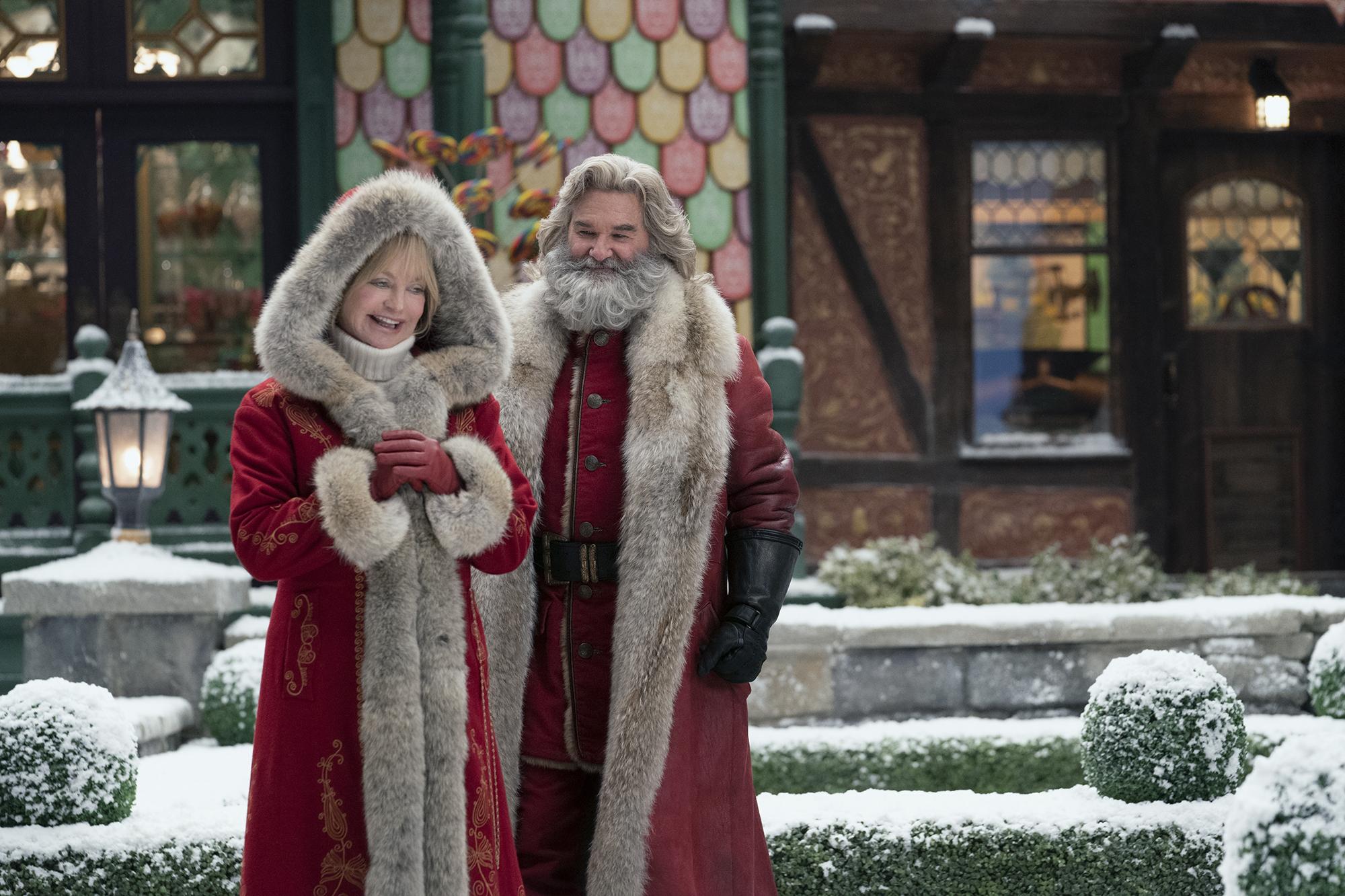 Kurt Russell's Santa sequel is a jumble