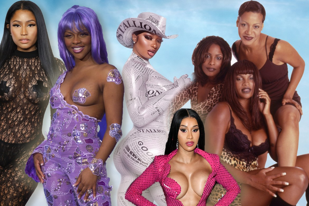 These sexy rappers had hot-girl movesbefore Megan Thee Stallion 1