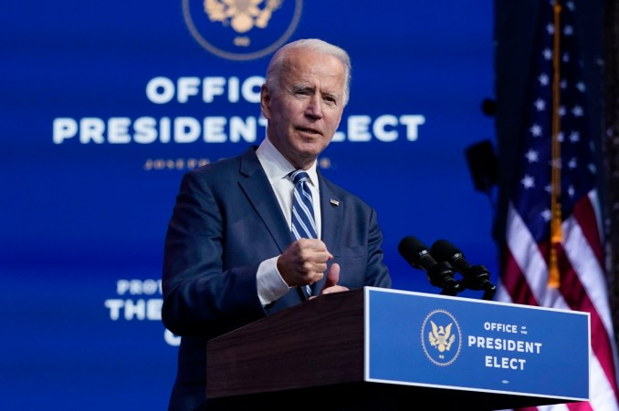 Biden vows to push ahead with transition as Trump challenges