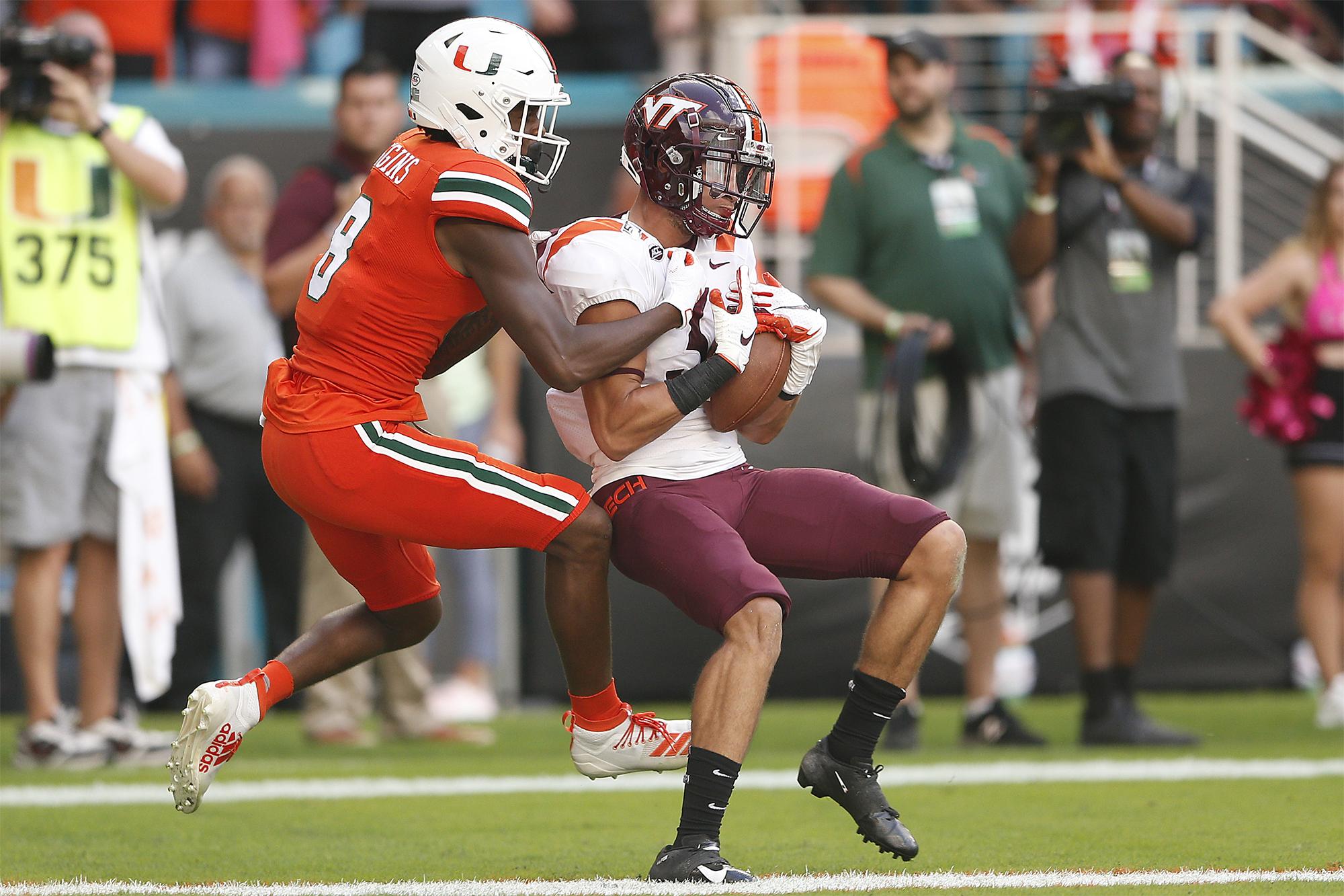 Virginia Tech Vs Miami Line Prediction Take Desperate Hokies