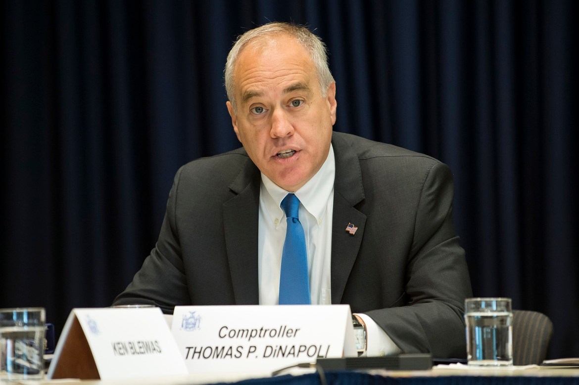 State Comptroller Tom DiNapoli just put the NY pension fund on the road to ruin 1