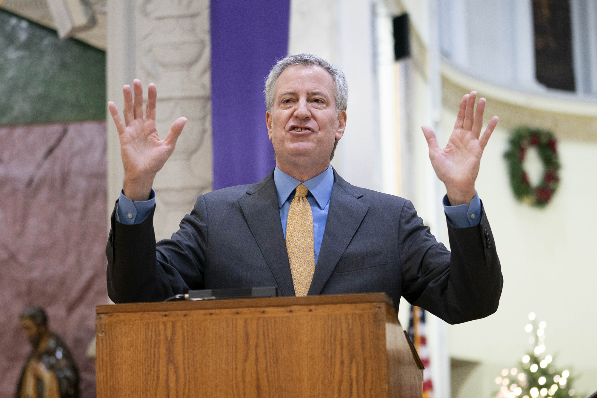 NYC could face 'full shutdown,' de Blasio warns