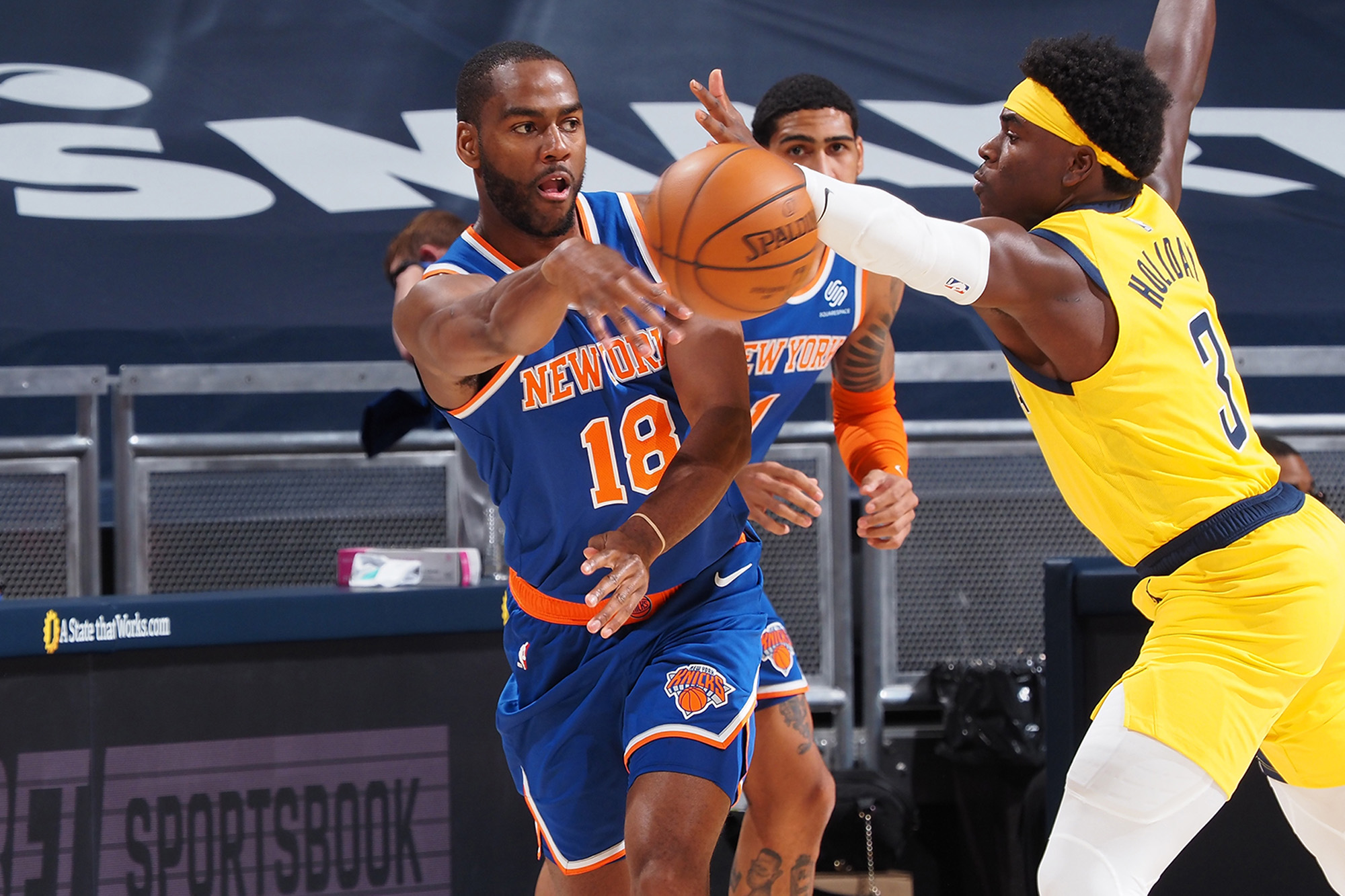 Alec Burks proving to be key addition to Knicks lineup