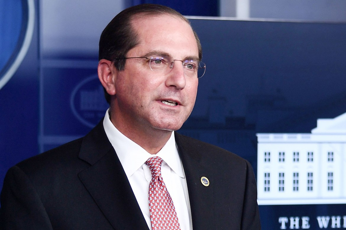 HHS head Alex Azar: All nursing home residents could be vaccinated by Christmas 1