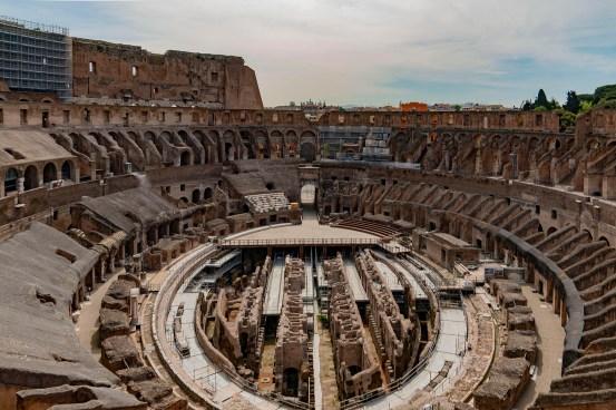 Rome Coliseum to receive $ 12 million high-tech retractable floor