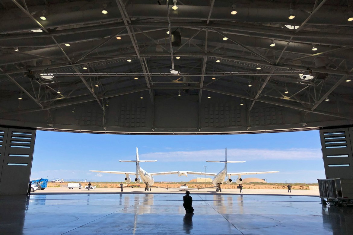 Virgin Galactic preparing for test flight from New Mexico spaceport 1