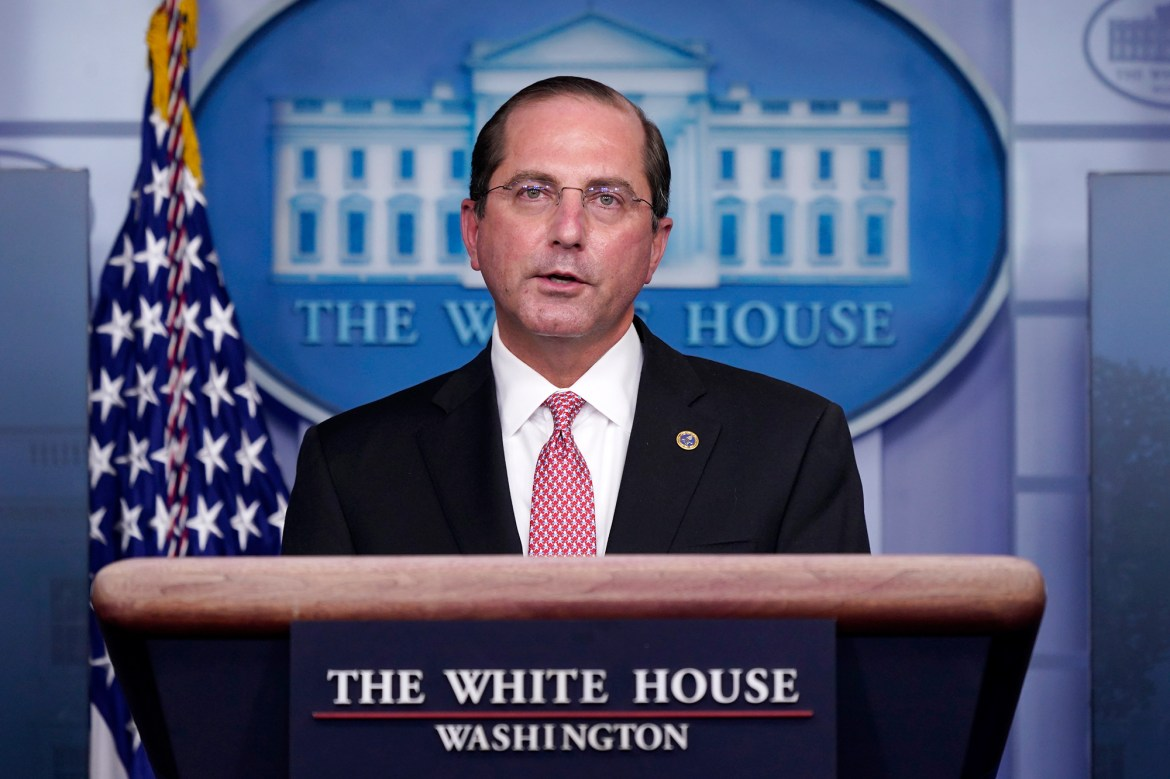 HHS boss Alex Azar begs people to get COVID-19 vaccine: 'Protect yourself' 1