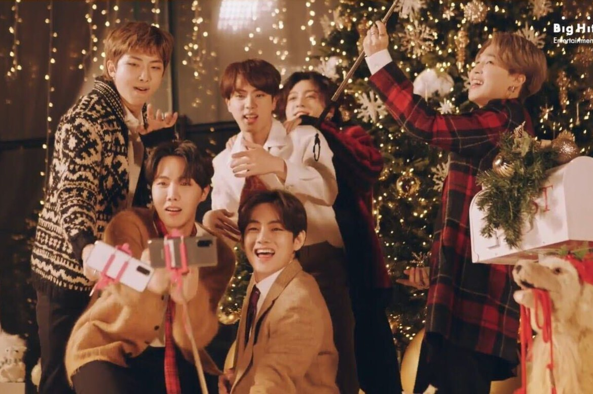 BTS drops holiday surprise remix of 'Dynamite' 1