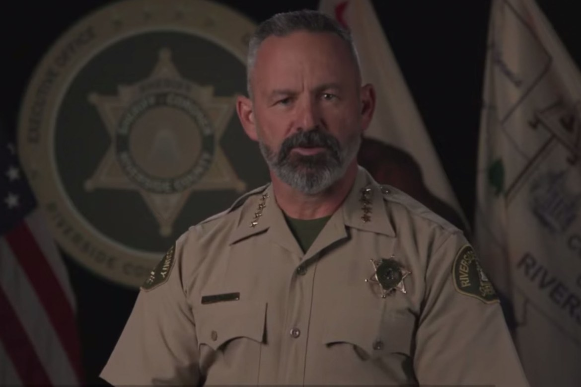 CA sheriff: county won't be 'used as muscle' against residents 1