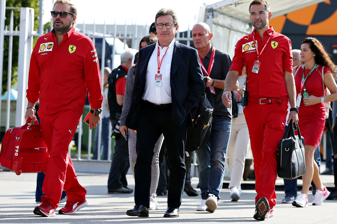 Ferrari CEO Louis Camilleri steps down after battle with COVID-19 1