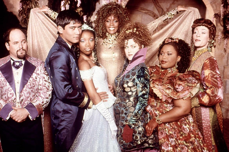 CINDERELLA, Jason Alexander , Paolo Montalban, Brandy Norwood, Whitney Houston, Bernadette Peters, V