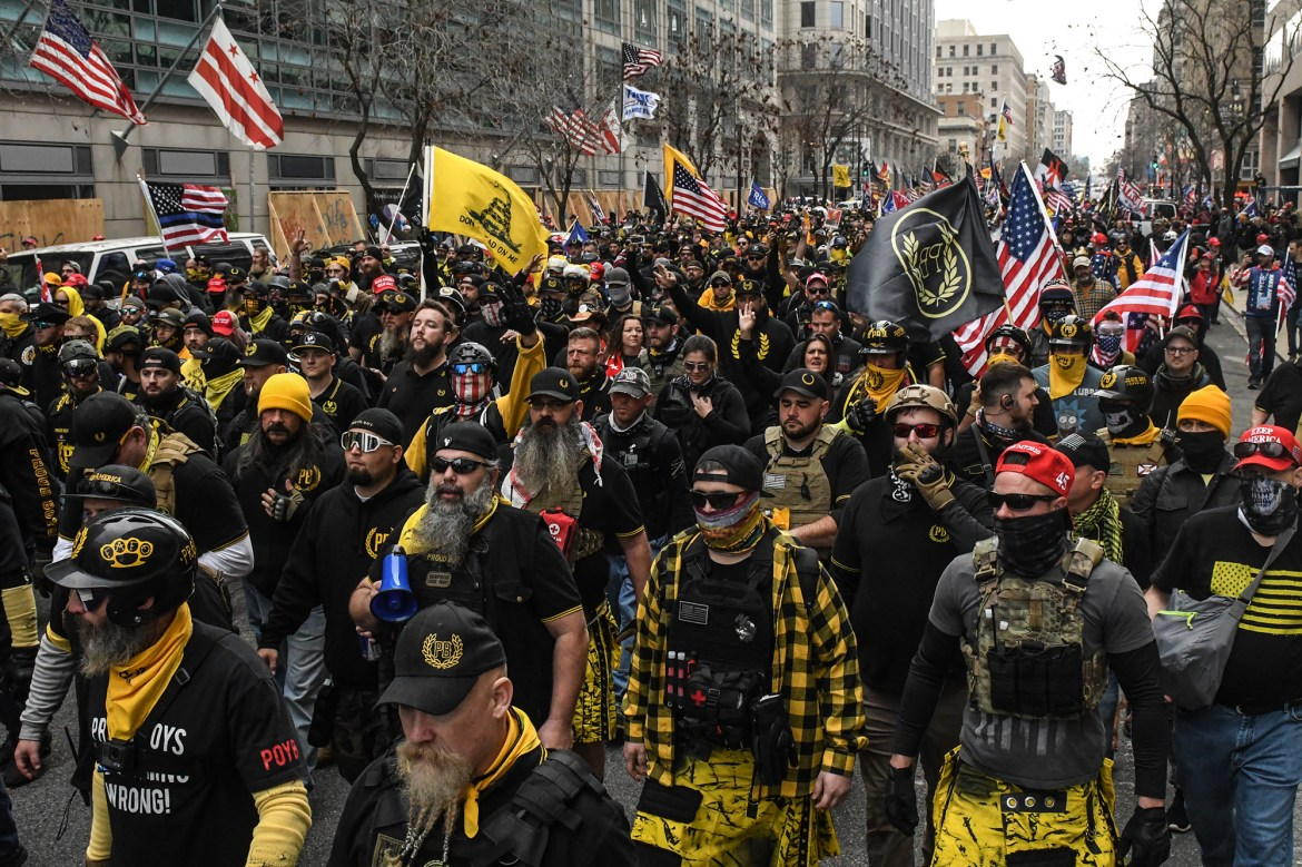 Proud Boys, anti-Trump protesters tangle in DC as daytime rallies end 1