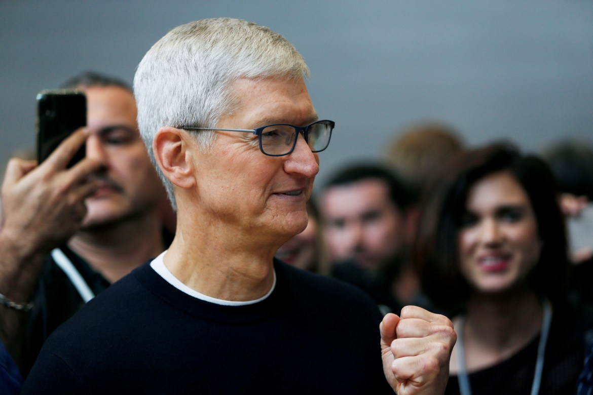 Tim Cook killed an Apple TV show about Gawker: report 1