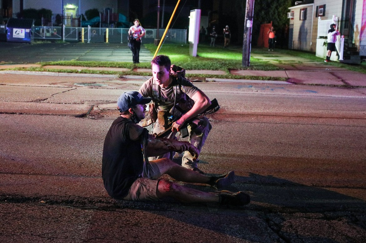 Kenosha protester, kin of late marcher shot by Kyle Rittenhouse to sue for $20M 1