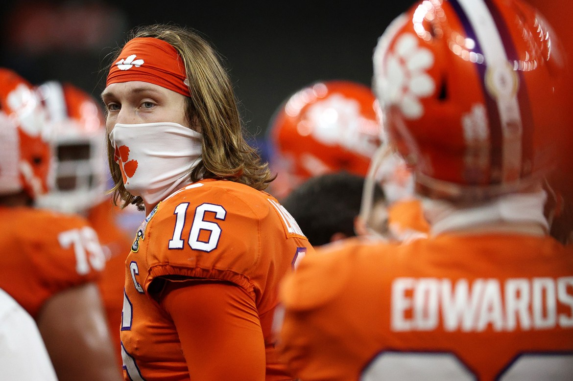Clemson's Trevor Lawrence would leave with 'no regrets' as NFL calls 1