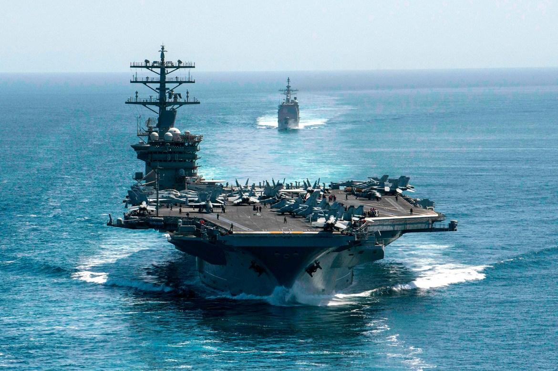 Trump told Pentagon chief to keep USS Nimitz in Persian Gulf amid threats: report 1