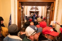 Neo-Nazis among protesters who stormed US Capitol